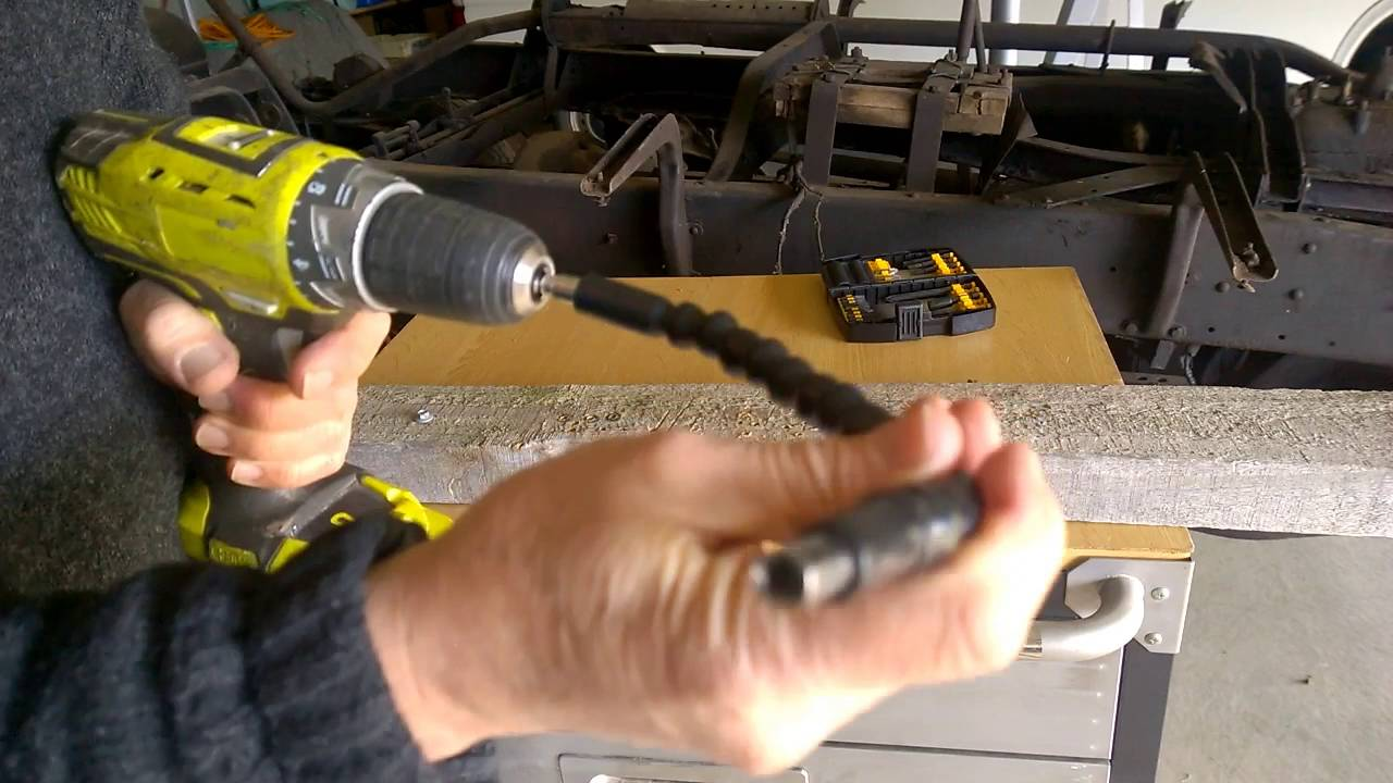 Screwdriver Flexible Extension