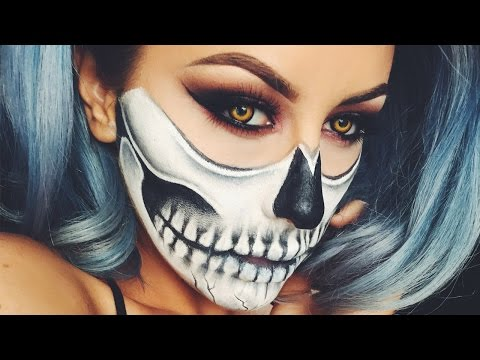 Halloween Skull Makeup - Chrisspy