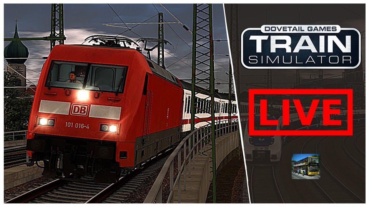 Train Simulator 2020 LIVE | Fahrstunde mit Nette Anette