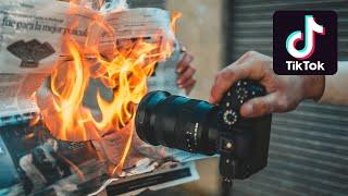 TIKTOK TRENDING PHOTOGRAPHY