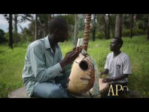 Western African musical Instrument called Kora