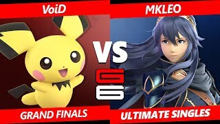 Genesis 6 SSBU - CLG | VoiD (Pichu) Vs. FOX MVG | MKleo (Lucina) Smash Ultimate Tournament GF