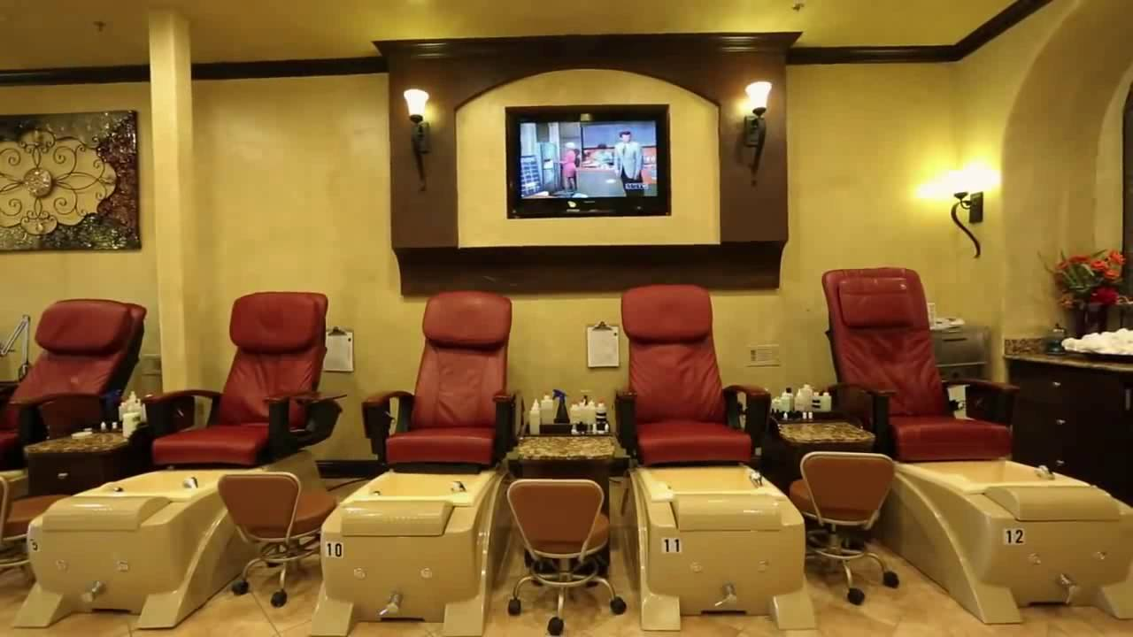 Charming Nail & Spa The best nail salon in Mansfield, TX - YouTube