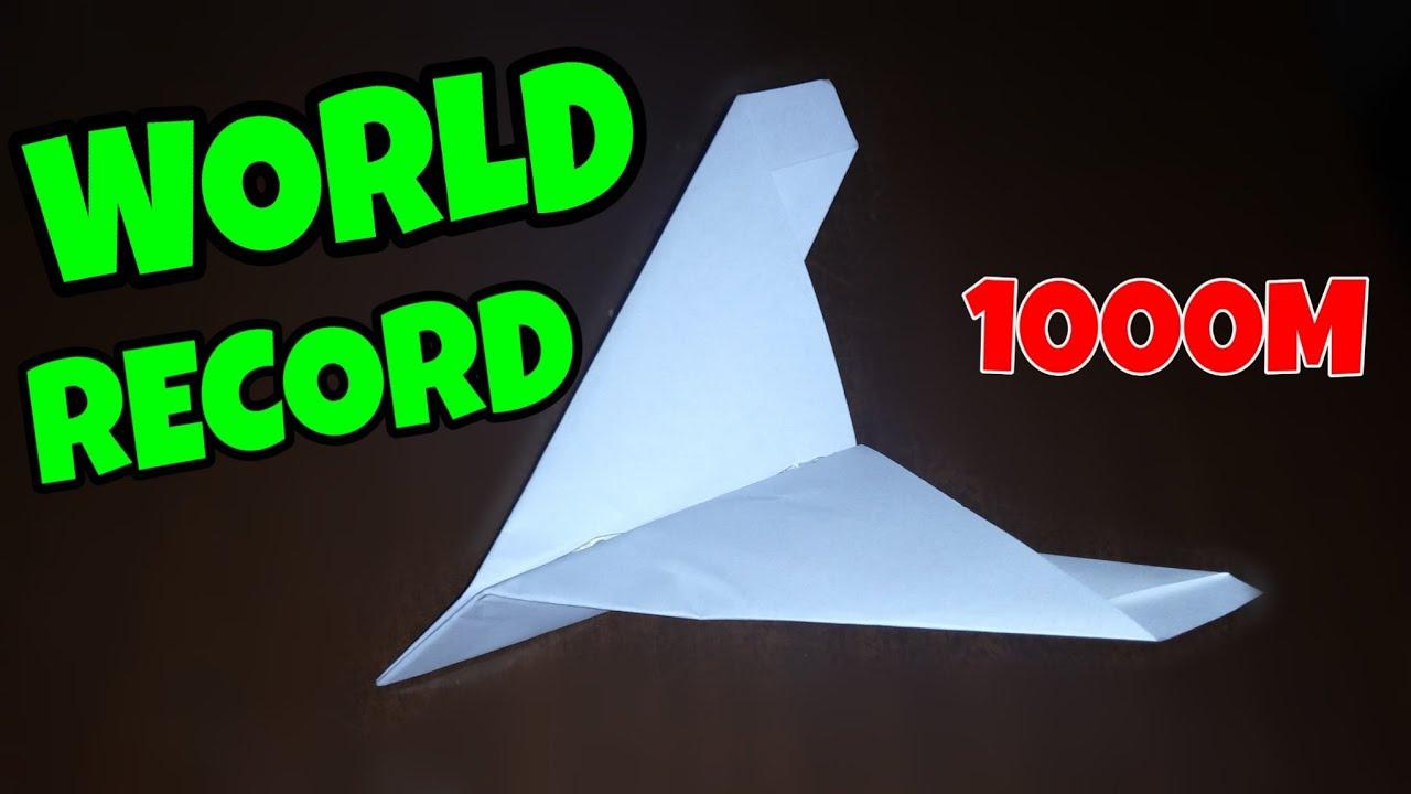 Worlds Best Paper Airplane 2020