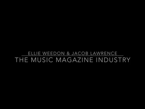 The Music Magazine Industry