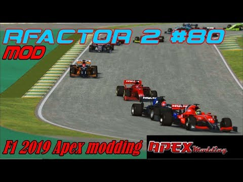 RFactor 2 #80# Mod # F1 2019 Apex Modding
