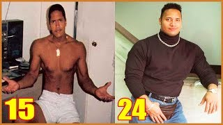 Dwayne Johnson (The Rock) Transformation From 1 to 46 Years Old ★ 2019