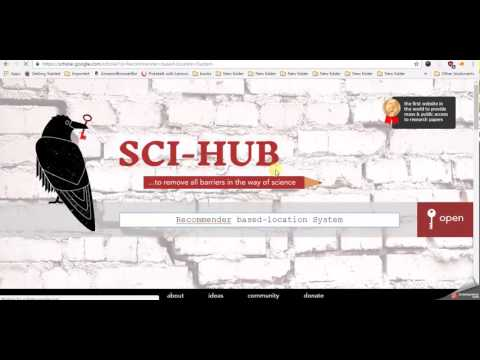 how to use sci-hub to get scientific papers