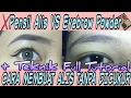 CARA MEMBUAT ALIS TANPA DICUKUR / DIKEROK (FULL TUTORIAL) Part 2 + PENSIL ALIS VS EYEBROW POWDER