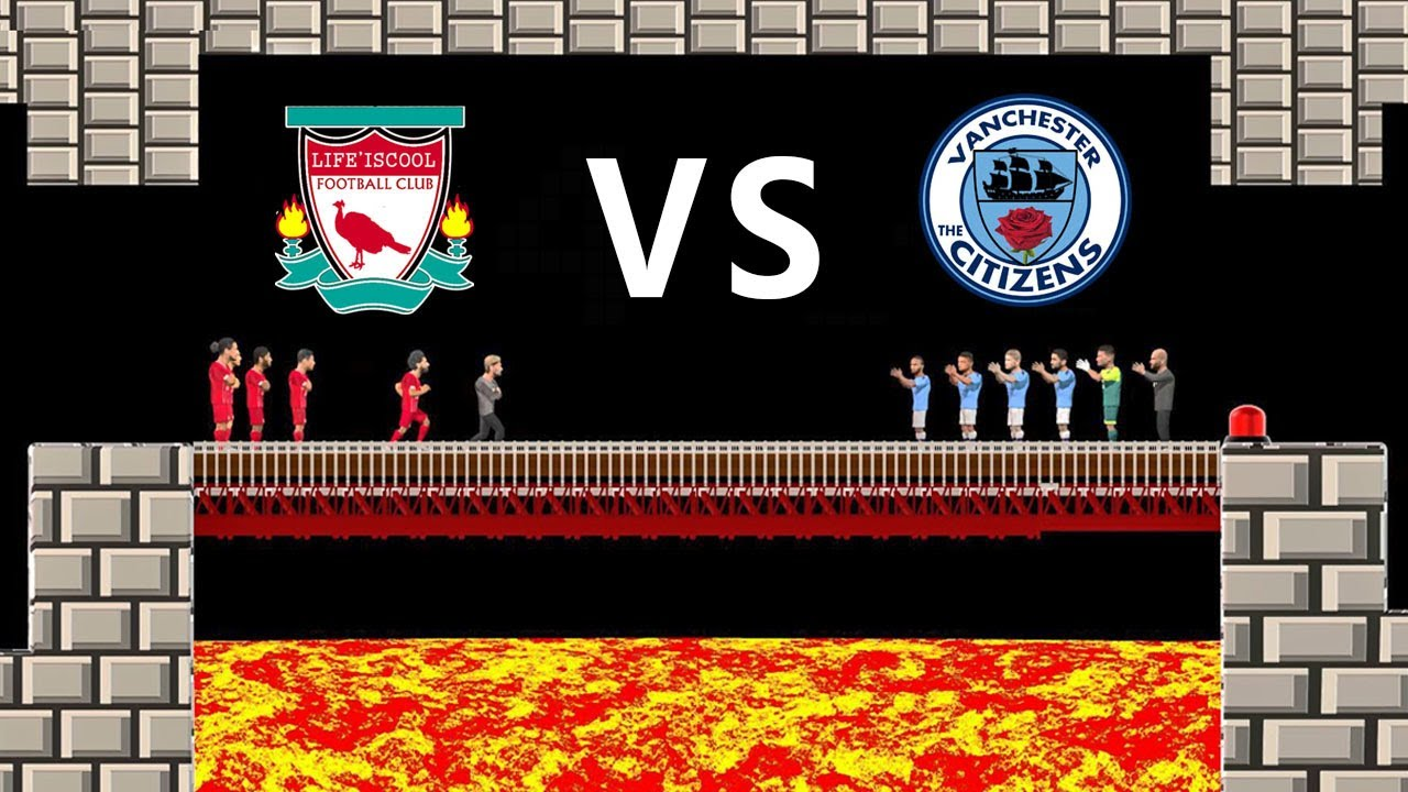 Liverpool vs Man City 1-4 | Parody Highlights | REPOST