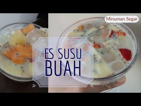 resep-buka-puasa-ep.19-:-es-buah-susu-|-aneka-buah-|-resep-sahur-|-drink-on-top
