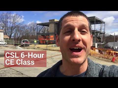 Classroom MA Construction Supervisor 6-hr CE Credits | Steven St