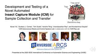 Insect Capture Module (ICM) -- IEEE CASE2020 Presentation