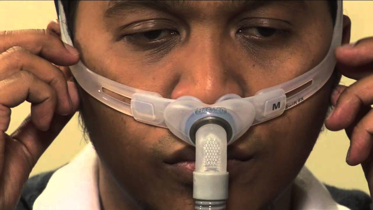 How To Fit Your Resmed Cpap Nasal Pillows Mask Youtube