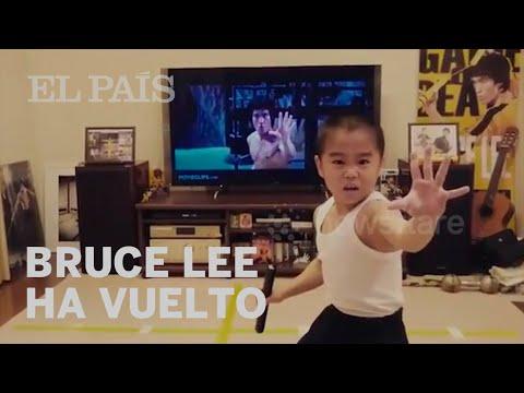 BRUCE LEE: El maestro de las artes marciales está vivo y tiene ocho años