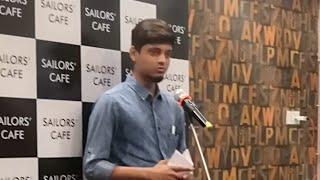 Part 12- Krutesh Shivalkar @Spandan Open Mike @ Sailor's Cafe, Belapur