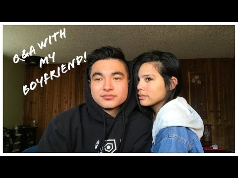 HE DIDNT KNOW I WAS TRANS?  Q&A WITH MY BOYFRIEND