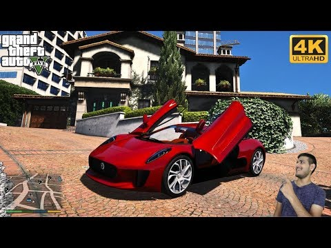 GTA 5 : DELIVERY OF MY NEW JAGUAR 😍 | Micheal Ke Vlogs |