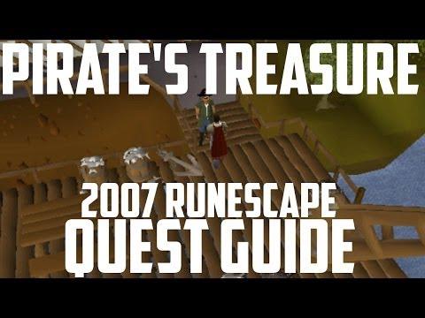 2007 Runescape Quest Guide: Pirate's Treasure