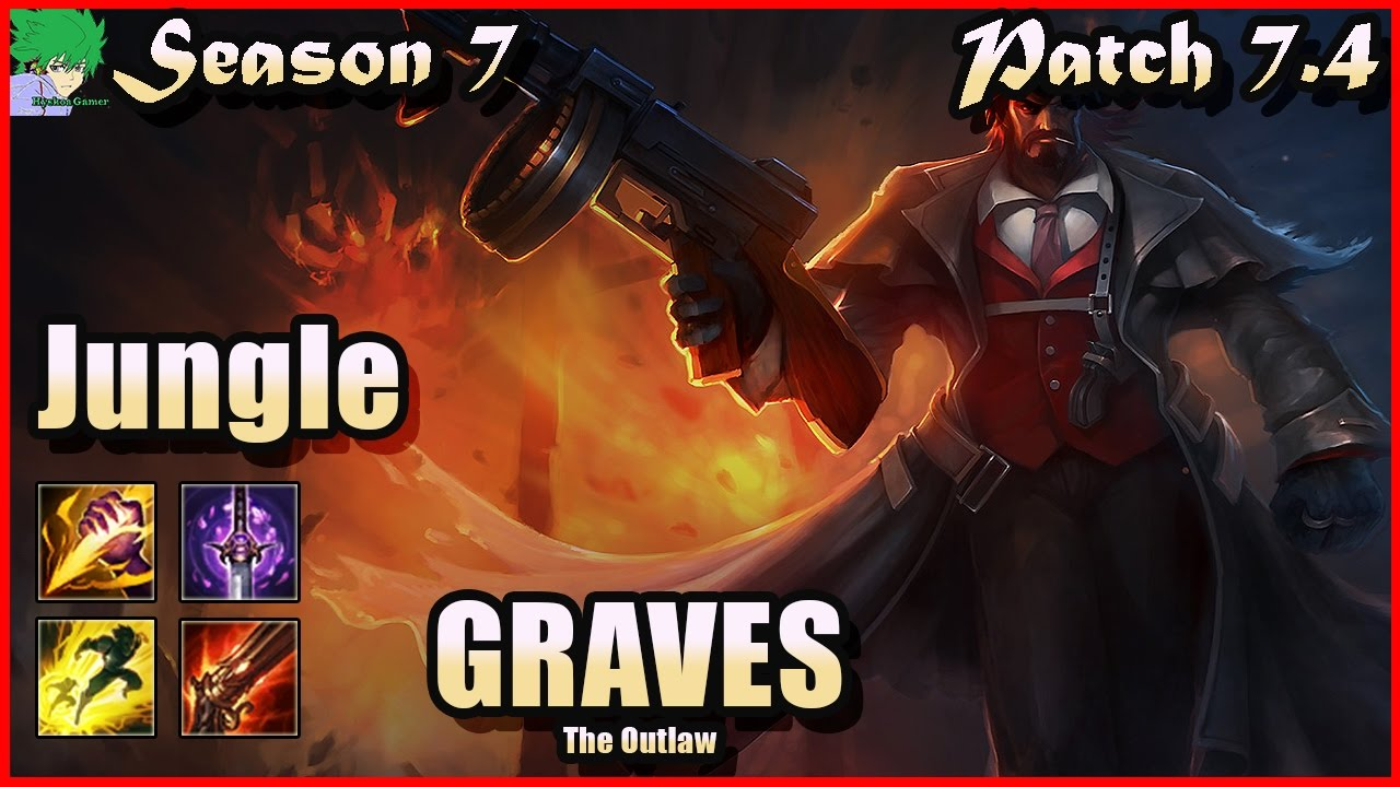 Download Graves vs Kha'Zix Jungle Season 7 Patch 7.4 - Gameplay