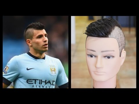 Sergio Aguero Mens Haircut Tutorial TheSalonGuy YouTube - Aguero hairstyle new