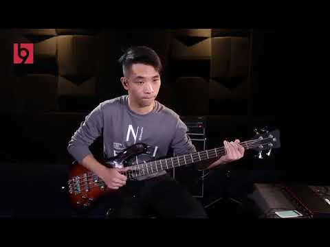 Electric bass, from NineBeats Chinese music school students