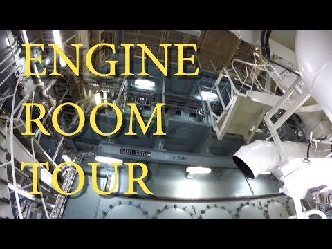Engine Room Tour on tanker