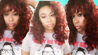 Two Ways to Make a Wig w/No Part Work! ft Sensationnel Lace Front Edge Wig- Bella