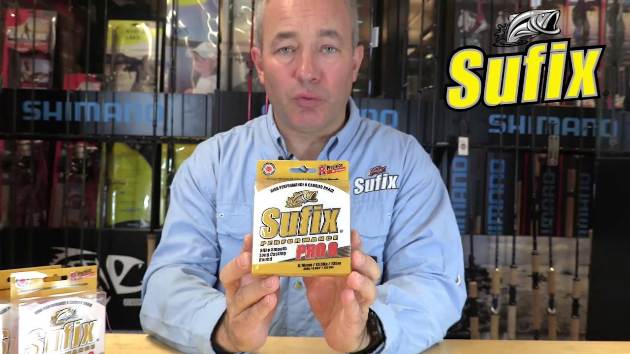 Большой выбор плетенок sufix (суффикс) по ценам производителей. Заказывайте качественные плетеные шнуры для рыбалки в интернет магазине.