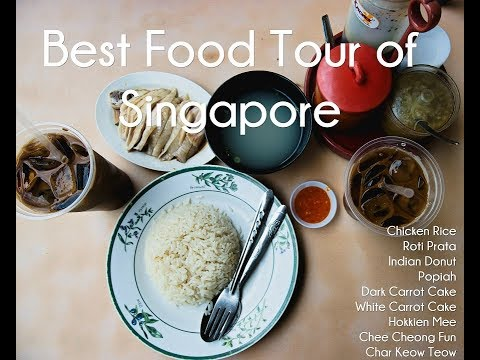 Best food tour of Singapore