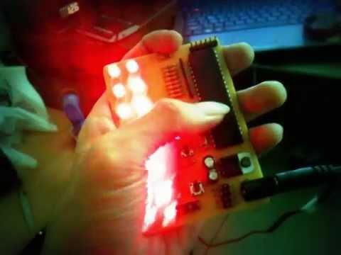 โครงงาน ไฟวิ่ง 8 รูปแบบ LED FLASH 8 STYLE BY MCS - 51 (MINI Project)