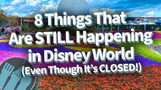 8 Things That Are STILL Happening in Disney World (Even Though It's Closed)!