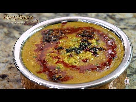 moong-dal-restaurant-style-|-mung-dal-vegan-recipe-|-how-to-cook-peeli-dal-tadka-recipe