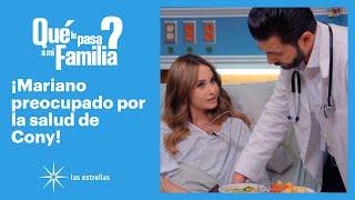 ¿Qué le pasa a mi familia?: ¡Mariano tuvo miedo de perder a Constanza!  | C-70 | Las Estrellas