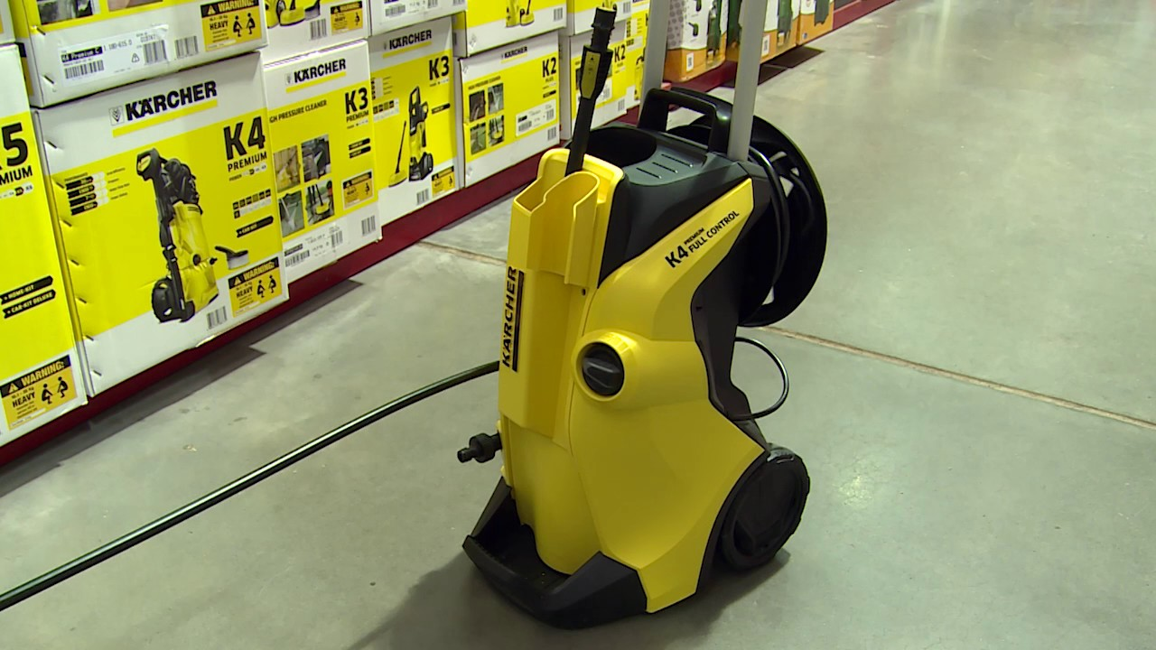 karcher k4 premium full control pressure cleaner what 39 s new in our aisles youtube. Black Bedroom Furniture Sets. Home Design Ideas