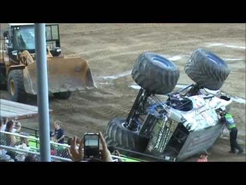 (EnTiRe ShOw!) ~ MONSTER TRUCKS ~ Mid State Fair ~ 28July13