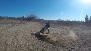 Drz400 / Wr250r testing out new tires in sand