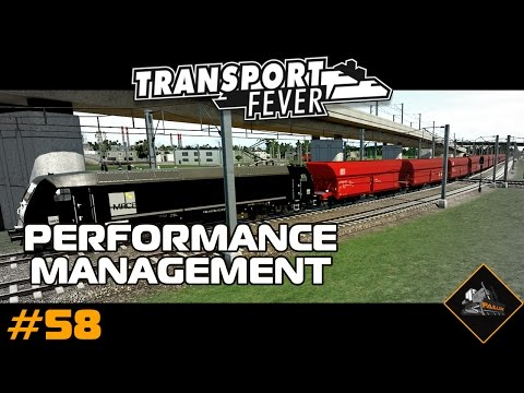 Performance Manager | Transport Fever mods lets play | North Atlantic #58