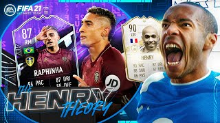 MY FAVOURITE FIFA 21 PLAYER! (The Henry Theory #62) (FIFA Ultimate Team)