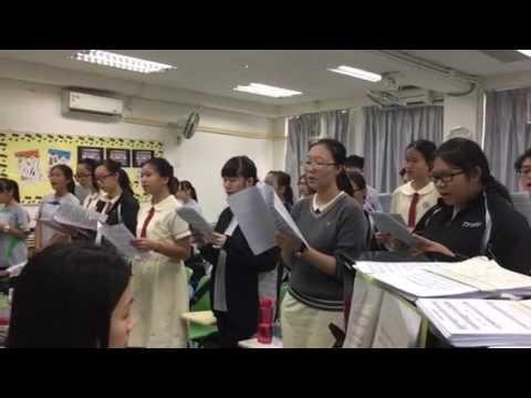 Tai Po Sam Yuk Secondary School Christmas Carol Rehearsal