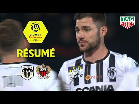 Angers SCO - OGC Nice ( 3-0 ) - Résumé - (SCO - OGCN) / 2018-19