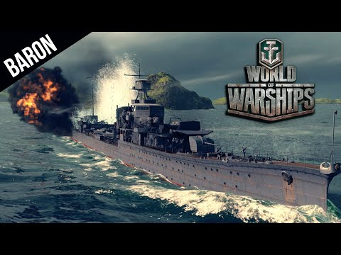 World of Warships Premium Sims Destroyer Gameplay, Fast and Agile