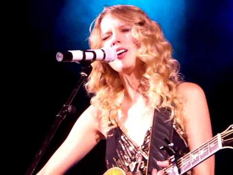 Taylor Swift - White Horse + Talking About Fairytale Love... - Sheperds Bush Empire