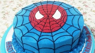 Spiderman Cake How to Make