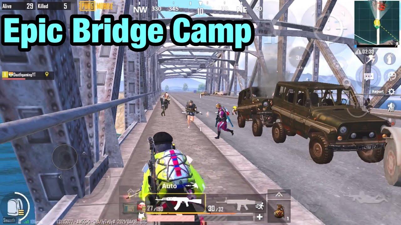 New Epic Bridge Camp PUBG Mobile   Death Gaming