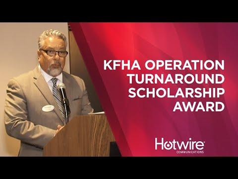 KFHA Operation Turnaround Scholarship Award