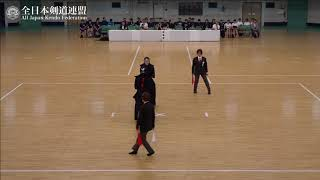 FUKUOKA vs KUMAMOTO 10th All Japan Interprefecture Ladies KENDO Championship 2018 Final