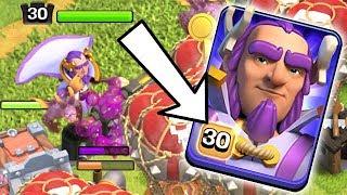 MAX Level 30 Warden!  Th12 Farm to Max   Clash of Clans