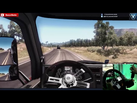 Ruta en multiplayer Eureka - Tucson | Peterbilt 579 | American Truck Simulator