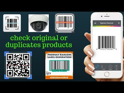 How To Any Original Products Barcode Scanner Best Application 2018